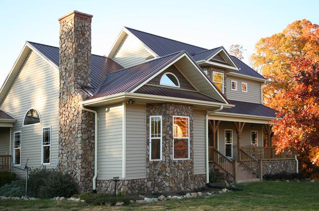 Види зовнішнього оздоблення фасаду будинку