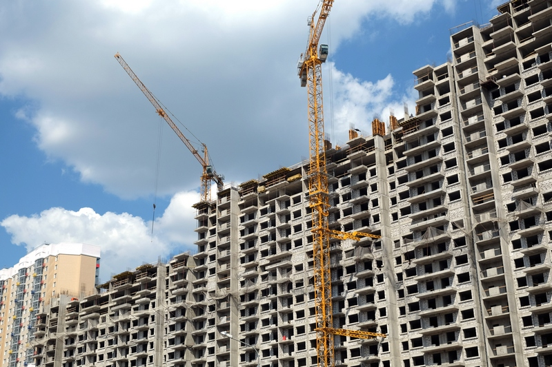 Види будівництва сучасних багатоповерхівок